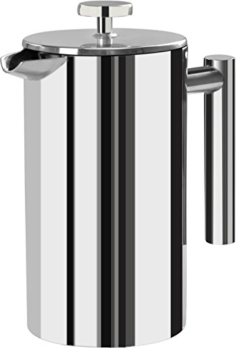 double wall steel french press - 4