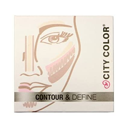 City Color Contour & Define - Contour, Bronzer, Blush, Highlight #F0038 by city color CITYCOLOR