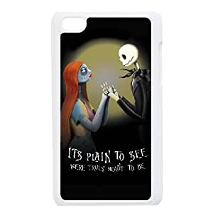 iPod 4 White Cell Phone Case The Nightmare Before Christmas KVCZLW2250 Phone Case Cover Back Personalized