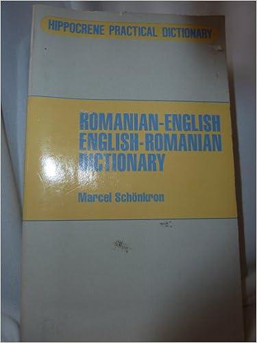 Book Romanian-English/English-Romanian Dictionary (English and Romanian Edition)