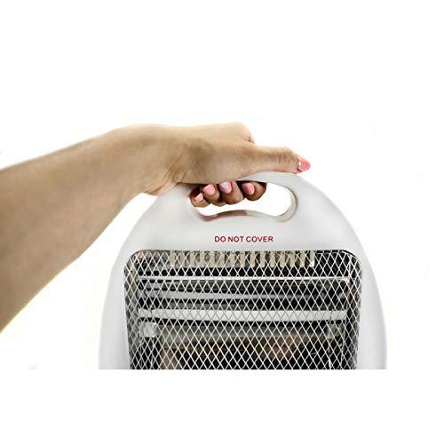 Mesko MS7710 radiador halogeno, Acero Inoxidable, Blanco, 41 x ...