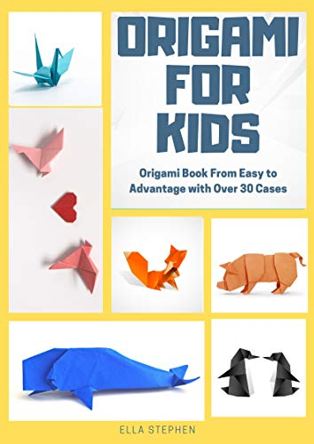 Make Origami Crane - Origami For Kids - Origami Book From Easy To Advanced With Over 30 Cases
