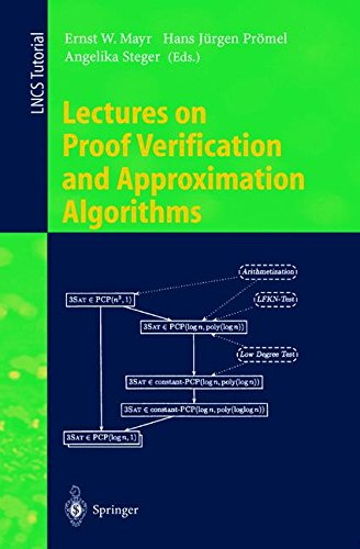 Buy Lectures On Proof Verification And Approximation Algorithms