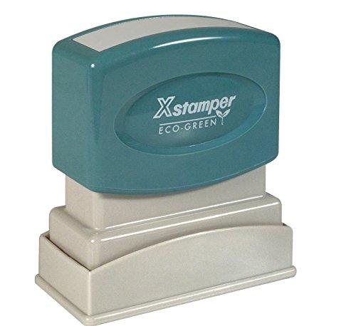 Xstamper Light - Xstamper One-Color Title Message Stamp,