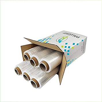 Film estensibile per imballaggi pellicola trasparente manuale 500mm 2,6kg 23my