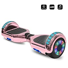 UL 2272 Certified! Specification: Wheels size: 6.5 inch Vacuum Tyre Bluetooth Speaker: Yes - Stereo Speaker With Premium Sound Quality (Can be connected to any devices which have Bluetooth connectivity like Computer, Laptop, Mobile Phones etc...
