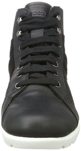 Aerosoles Mix New Zealand Femme Noir Chukka Kansas Boots Blk Black rPrZqwE