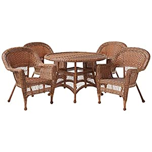 41a1cOZG4KL._SS300_ Wicker Dining Tables & Wicker Patio Dining Sets