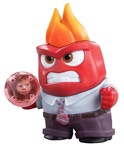 Disney Pixar Inside Out Small Figure W Memory Sphere Lights Up Anger L61105
