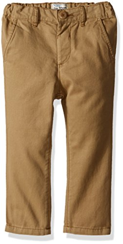 The Children's Place Baby Boys' Toddler Skinny Chino Pants, Flax 7033 3T