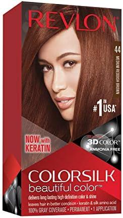 Revlon ColorSilk Beautiful Color 44 Marrón coloración del ...