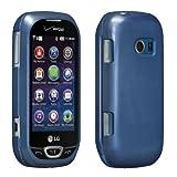 verizon lg cell phone case - Verizon Snap on Cover for LG Extravert 2- Blue