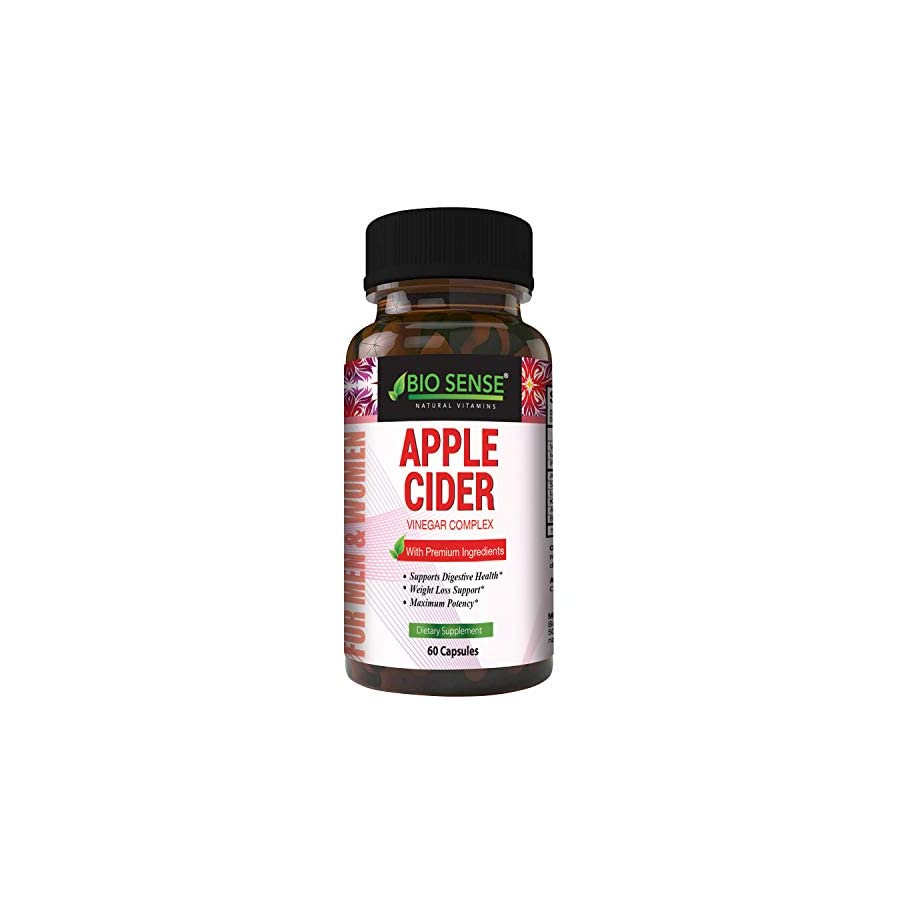 Apple Cider Vinegar Pills for Weight Loss Extra Strength Fat Burning Supplement Pure Detox Cleanse & Digestion Support Natural Apple Cider Vinegar Capsules for Men & Women
