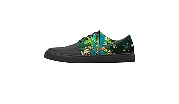 Daniel Turnai Fan Custom Womens Shoes Music and Guitar New Sneaker Canvas Pointed Toes