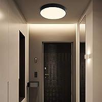 VinDeng Minimalismo Redondo LED Metálico Lámpara de techo ...