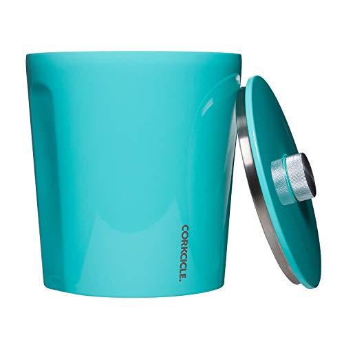 Corkcicle Ice Bucket – Gloss Turquoise