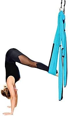 DAS Leben Hamaca Correa Volar para Yoga Pilates Gimnasia A¨¦rea, Carga de 200kg