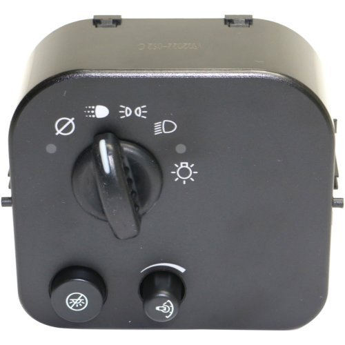 Headlight Switch compatible with Trailblazer/Envoy 03-09 12+1 Male Terminals Blade And Pin Type Female Connector ()