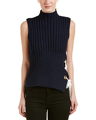 10-crosby-womens-derek-lam-lace-up-sweater-s-blue