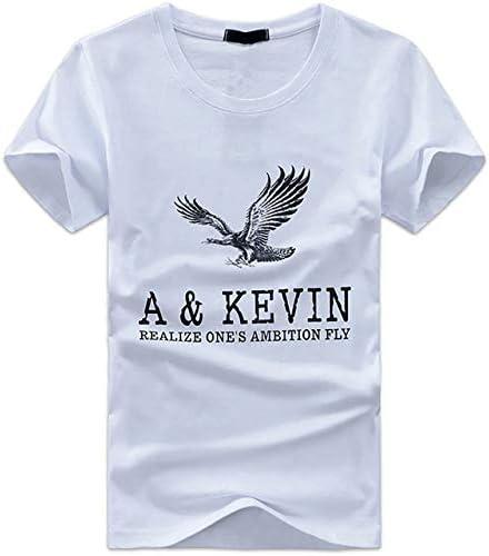メンズ 半袖 Tシャツ アメカジ ロゴプリント カットソー イーグルTシャツ TSP009