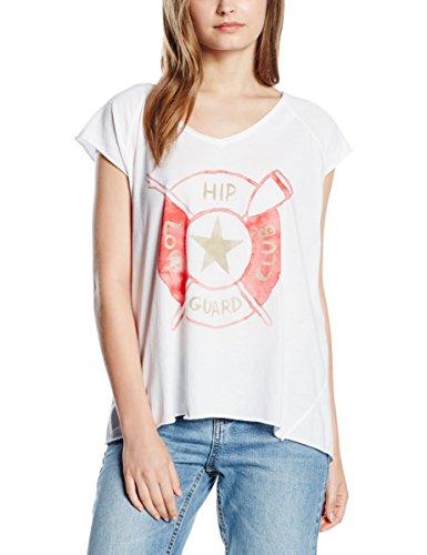 THE HIP TEE, FRESNO - Camiseta de manga corta para mujer Blanco (Hip White)