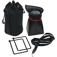 Professional 2x Magnification Viewfinder for Sony Alpha SLT A55, A57, A65, A77, A77II - NEX-3 NEX-5 NEX-6 NEX-7 Mirrorless Digital SLR Camera
