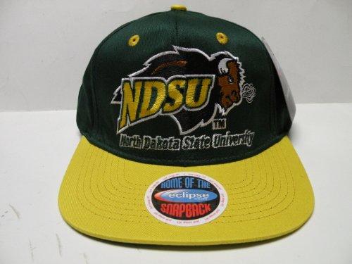 NCAA North Dakota State Bison Green Yellow 2 Tone Snapback C