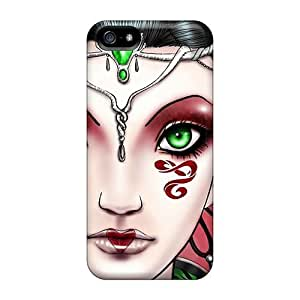 Hot GrAsaQk311RFVME Snake Woman Tpu Case Cover Compatible With Iphone 5/5s
