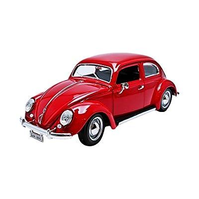 Bburago 12029R - Volkswagen Kafer Beetle - 1955 - Echelle 1/18 - Rouge