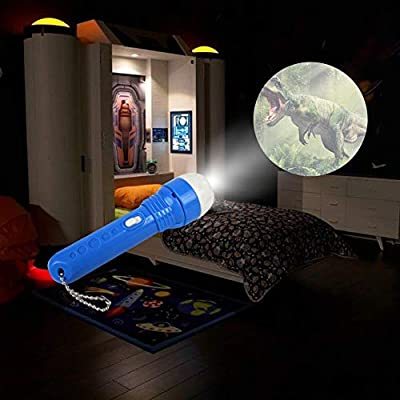 Projector Flashlight Night Light For Bedtime For Children kid Below 3 Years Old