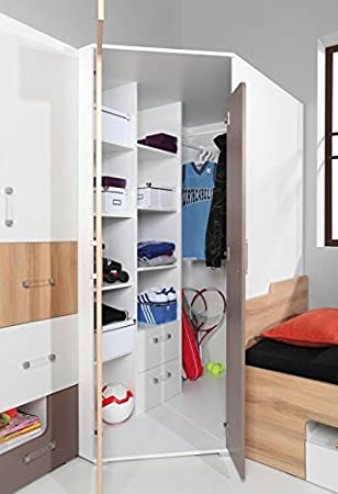 Eckkleiderschrank Jugendzimmer Amazonde Baumarkt