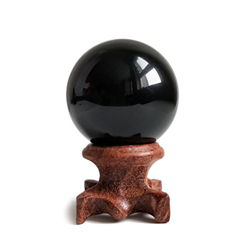 Black Obsidian Crystal Ball 40mm /1.6