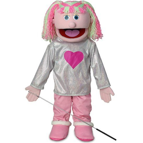 25'' Kimmie, Pink Girl, Full Body, Ventriloquist Style Puppet