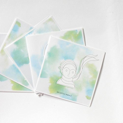 Set of five DIY Christmas cards with discounted price - My Little Prince Series- 5 pieces (Send My Congratulations)
