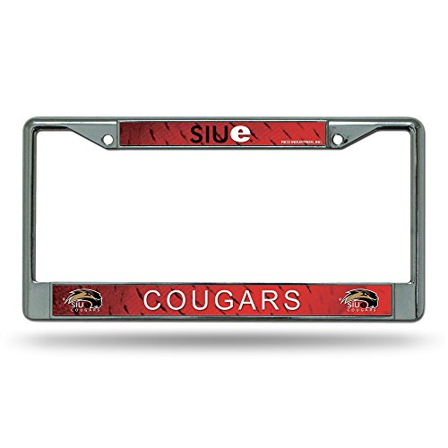 Southern Illinois Salukis NCAA Chrome License Plate Frame
