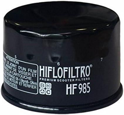 HIFLOFILTRO - 18804 : Filtro Aceite Moto Hf985 Kymco Yamaha ...