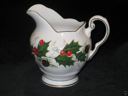 Royal Tuscan Member of the Wedgewood Group Noel Fine Bone China Mini Creamer