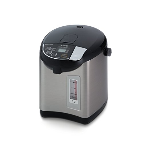 Tiger PDU-A30U-K Electric Water Boiler and Warmer, Stainless Black, 3.0-Liter by Tiger Corporation
