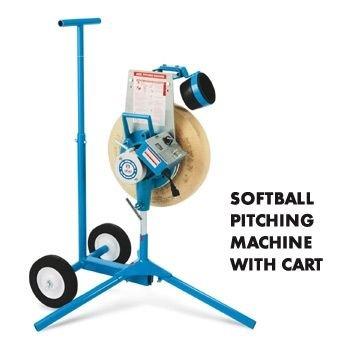 Jugs Cart - Jugs Sports Softball Pitching Machine - 12 inch, w/ Cart, 220v