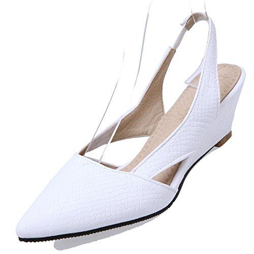 Fashion HeelSandals - Zapatos con correa de tobillo mujer blanco