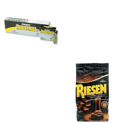 kiteveen91rsn398052-value-kit-riesen-chocolate-caramel-candies-rsn398052-and-energizer-industrial-al