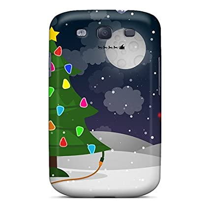 cute appearance covertpu lwxsv12166pgpds holidays new year wallpapers new deer case for galaxy s3