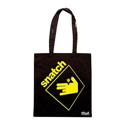 Borsa Snatch Logo - Nera - Film by Mush Dress Your Style
