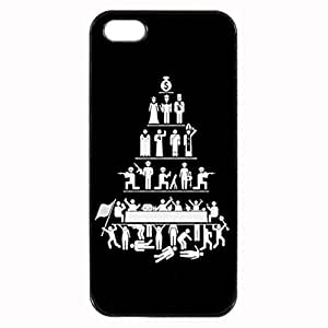 Hierarchies Custom Image Case iphone 4 case , iphone 4S case, Diy Durable Hard Case Cover for iPhone 4 4S , High Quality Plastic Case By Argelis-sky, Black Case New