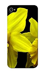 Inthebeauty 93de91b1605 Case Cover Skin For Iphone 5/5s (daffodils)/ Nice Case With Appearance