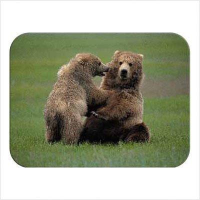 (Tuftop Bears Pushover Cutting Board Size: Medium (12