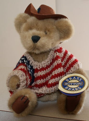 Brass Button Bears striped shirt product image