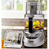 Cuisinart Prep Plus CFP-11PCBC 11-cup Food Processor with Blade & Disc Holder, Silver