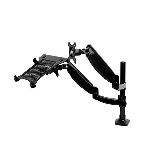 2 In 1 Fleximounts L02 Height Adjustable Dual Arm Lcd