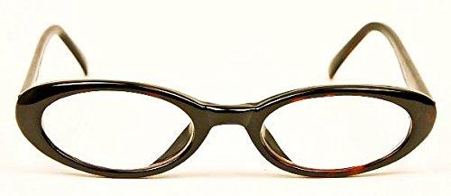 Eyeglasses Tortoise Frame Fashion Nurd Sexy Clear Lensses -